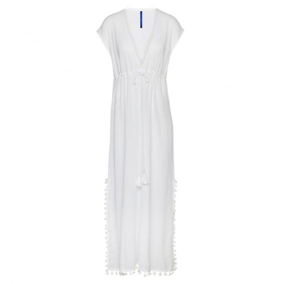 best authentic f2a17 35c31 Cyell Sunset Langes Strandkleid Weiß - Annadiva