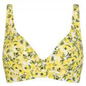 Annadiva Swim Lemonade Halter Bikinitop Citron