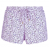 Annadiva Swim Leo Short Lilac Panter