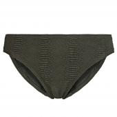 Annadiva Swim Snake Bikinibroekje Olive