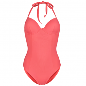 Annadiva Swim Solid Badpak Pink