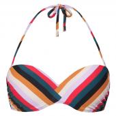Beachlife French Braid Bandeau Bikinioberteil