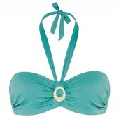 Cyell Beach Ess. Bandeau Bikini-Oberteil  Vintage Blue