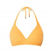 Beachlife Warm Apricot Padded Triangle Bikinitop