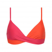 Beachlife Bright Rose Cross-over Bikinitop