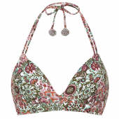 Beachlife Blossom Boutique Wattiertes Triangel Bikinioberteil