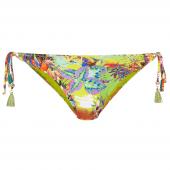 Cyell California Bikini-Hose mit seitlichen Bändern Mehrfarbig