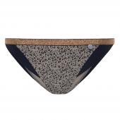 Beachlife Cheetah Niedrige Bikinihose Taupe