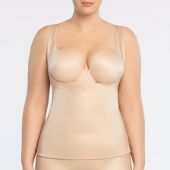 Spanx Conceal-Her! Open-Bust Unterhemd Natural Glam