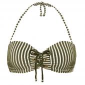Beachlife Cypress Stripe Bandeau Bikinioberteil