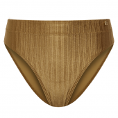 Beachlife Dull Gold hoog bikinibroekje