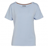 Essenza Ellen Uni Pyjamashirt Ice Blue