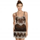 Wacoal Embrace Lace Nachtjurkje Zwart - Annadiva