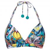 BeachlifeEnchanted Island Wattiertes Triangel Bikinioberteil-