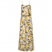 Cyell Garden Mood Langes Strandkleid Gemustert