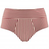 Marlies Dekkers Holi Vintage Klassische Bikini-Hose Red Stripes
