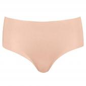 Hanro Invisible Cotton Taille Slip Chestnut