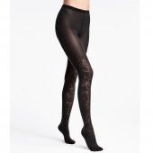 Wolford Jungle Night Strumpfhose Black