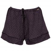 Cyell Sleepwear Scratches Korte Pyjamabroek Black