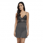 Wacoal Lace Perfection Babydoll Jurkje Charcoal