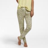 Cyell Nachtwäsche Leopard Lange Schlafanzughose Yellow