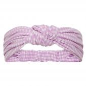 Beachlife Lilac Check Haarband