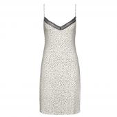 Cyell Sleepwear Luxury Essentials Nachtkleid Spotted Ivory