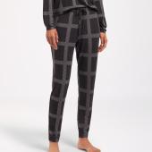 Cyell Sleepwear Luxury Essentials Lange Schlafanzughose Black