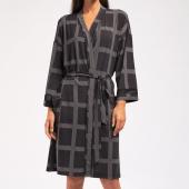 Cyell Sleepwear Luxury Essentials Morgenmantel Black