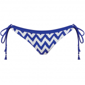 Freya Swim Making Waves Bikini-Hose mit seitlichen Bändern Cobalt