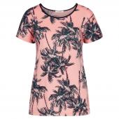 Cyell Sleepwear Miami Beach Kurzärmliges Shirt Rosa