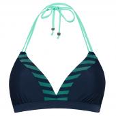 Beachlife Nightriver Vorgeformtes Triangel Bikini-Oberteil Blau
