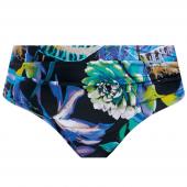 Fantasie Paradise Bay Bikinihose mit Umschlag Aqua Multi