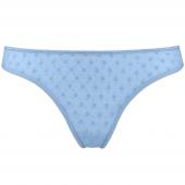 Marlies Dekkers Petit Point String Light Blue & Silver