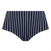 Elomi Swim Plain Sailing Hoog Bikinibroekje Midnight Stripe