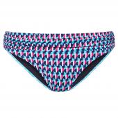 Cyell Rhythm Bikinihose mit Pliséebündchen