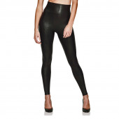 Spanx Ready-to-Wow Shaping Kunstleder Legging Schwarz