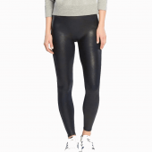 Spanx Ready-to-Wow Shaping Kunstleder Legging Night Navy