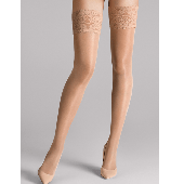 Wolford Satin Touch Stay-up Strümpfe 20 Denier Gobi