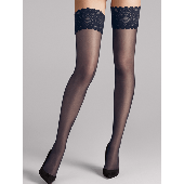 Wolford Satin Touch Stay-up Strümpfe 20 Denier Admiral