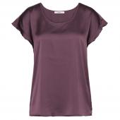 Cyell Satin Schlaf-Shirt Purple