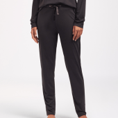 Cyell Nachtwäsche Solid Schlafanzughose Black
