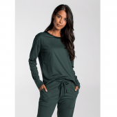 Cyell Solids Pyjamashirt Forest Green