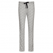 Cyell Sleepwear Spring Retreat Schlafanzughose Schwarz-Weiß