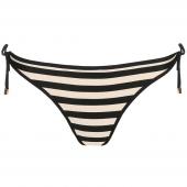 Marie Jo Swim Merle Bikinihose mit seitlichen Bändern Noir Rayure