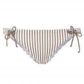 Beachlife Taupe Stripe Bikinihose