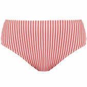 Freya Swim Totally Stripe Hoog Bikinibroekje Flame