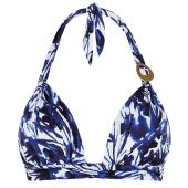 Cyell Secret Garden Secret Garden Vorgeformtes Triangel-Bikini-Oberteil Blau