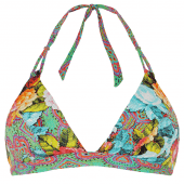 Cyell Gypsy Rose Triangel Bikini-Oberteil Mehrfarbig