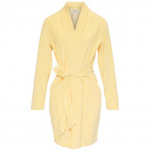 Cyell Velvet Badjas Yellow